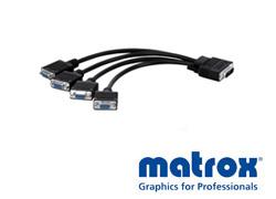 Matrox LFH60→Dsub15×4変換ケーブル