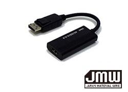 4K/60p対応 DisplayPort→HDMI変換アダプター