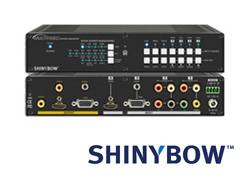SHINYBOW  SB-3690A マルチフォーマットAVスケーラー