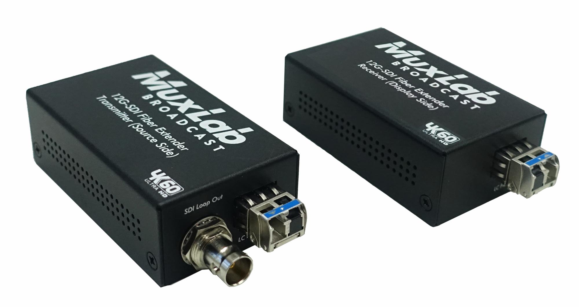 500713 光ファイバー伝送12G-SDI延長器