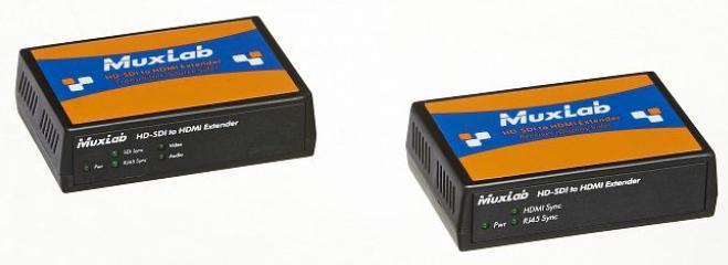 500716 ツイストペア伝送SDI to HDMI延長器