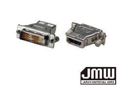 HDMIタイプAメス⇔ DVI-Dオス変換アダプター