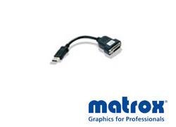 Matrox DisplayPort→DVI変換ケーブル