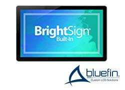 Bluefin シリーズ4(BrightSign内蔵タッチディスプレイ)