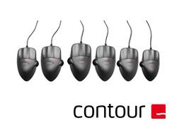 ContourMouse – コントアマウス:グレー