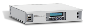 4Kリモートプロダクション・ WEB配信用 エンコーダー・デコーダーMatrox Monarch EDGE