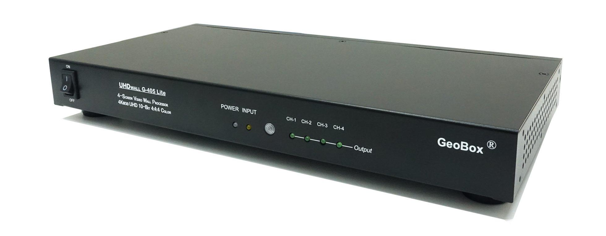 GeoBox G405L 4K/30Pマルチディスプレイコントローラー