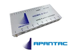 4K60P対応HDMI切替器 8入力/1出力