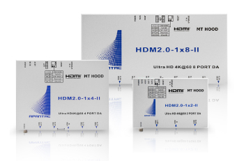 4K60P対応HDMI分配器 DAHDM-IIシリーズ