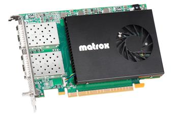 Matrox ST2110対応ネットワークカード