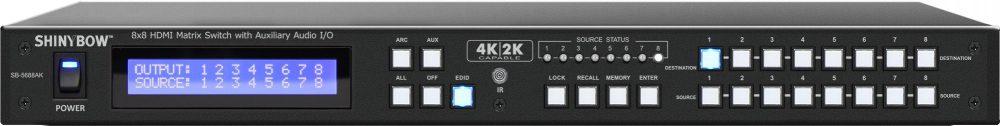 SB-5645AK | SB-5688AK  HDMI/AUDIOマトリックススイッチャー