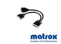 Matrox LFH60→DVI-I×2変換ケーブル