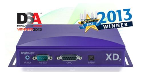 BrightSign XD2シリーズ