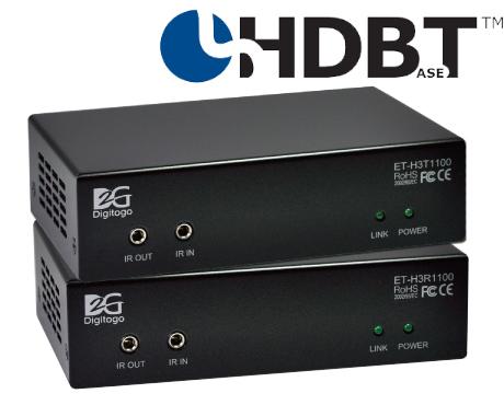 Digitogo ET100シリーズ HDBaseT HDMI 4K延長器【販売終了】