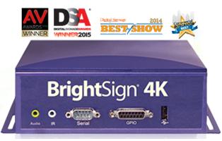 BrightSign 4Kシリーズ