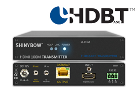 SB-6335T | SB-6335R  ツイストペア伝送HDMI延長器