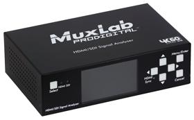 HDMI2.0/3G-SDIアナライザー MUX-A500831