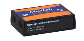 MuxLab MUX-EK500457 ツイストペア伝送HDMI/USB2.0延長器