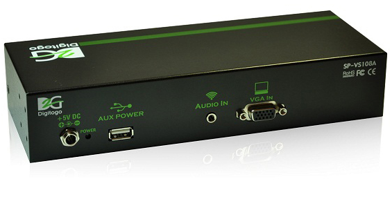 Digitogo SPシリーズ VGA/音声分配器