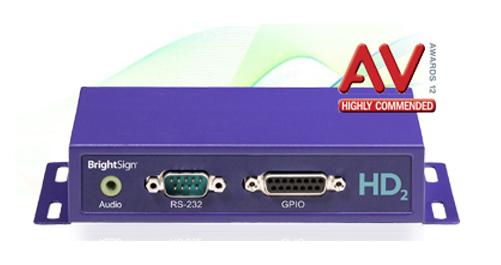 BrightSign HD2シリーズ