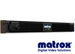 Matrox ST 2110診断装置(リファレンス出力)